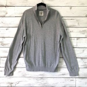 Men's Gray Old Navy Sweater Pull-Over
